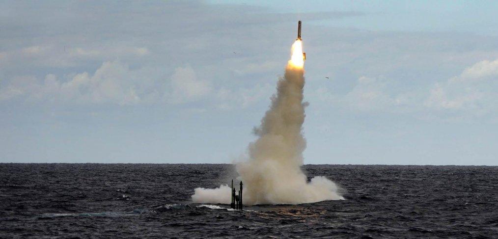 Royal Navy Submarine fires Tomahawk missile