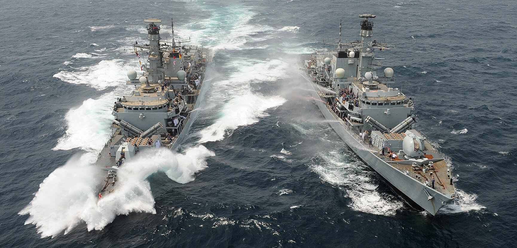 HMS Iron Duke and HMS St Albans