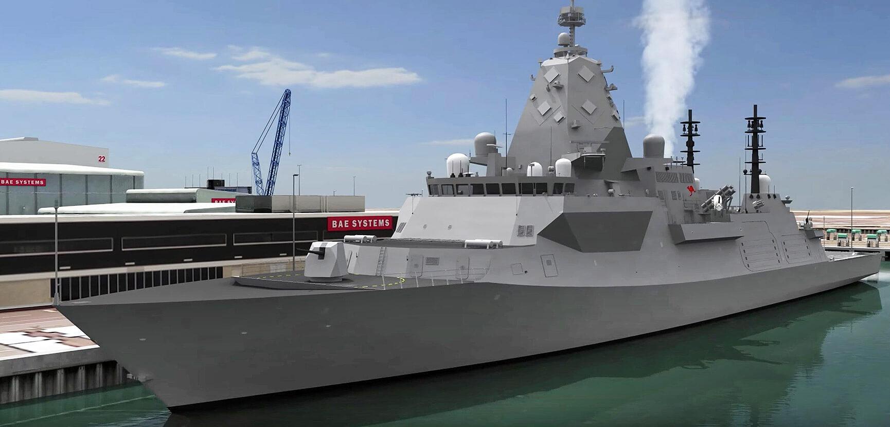 Australia Type 26 Frigate