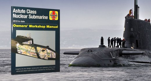 Book review - Astute class submarine owners workshop manual