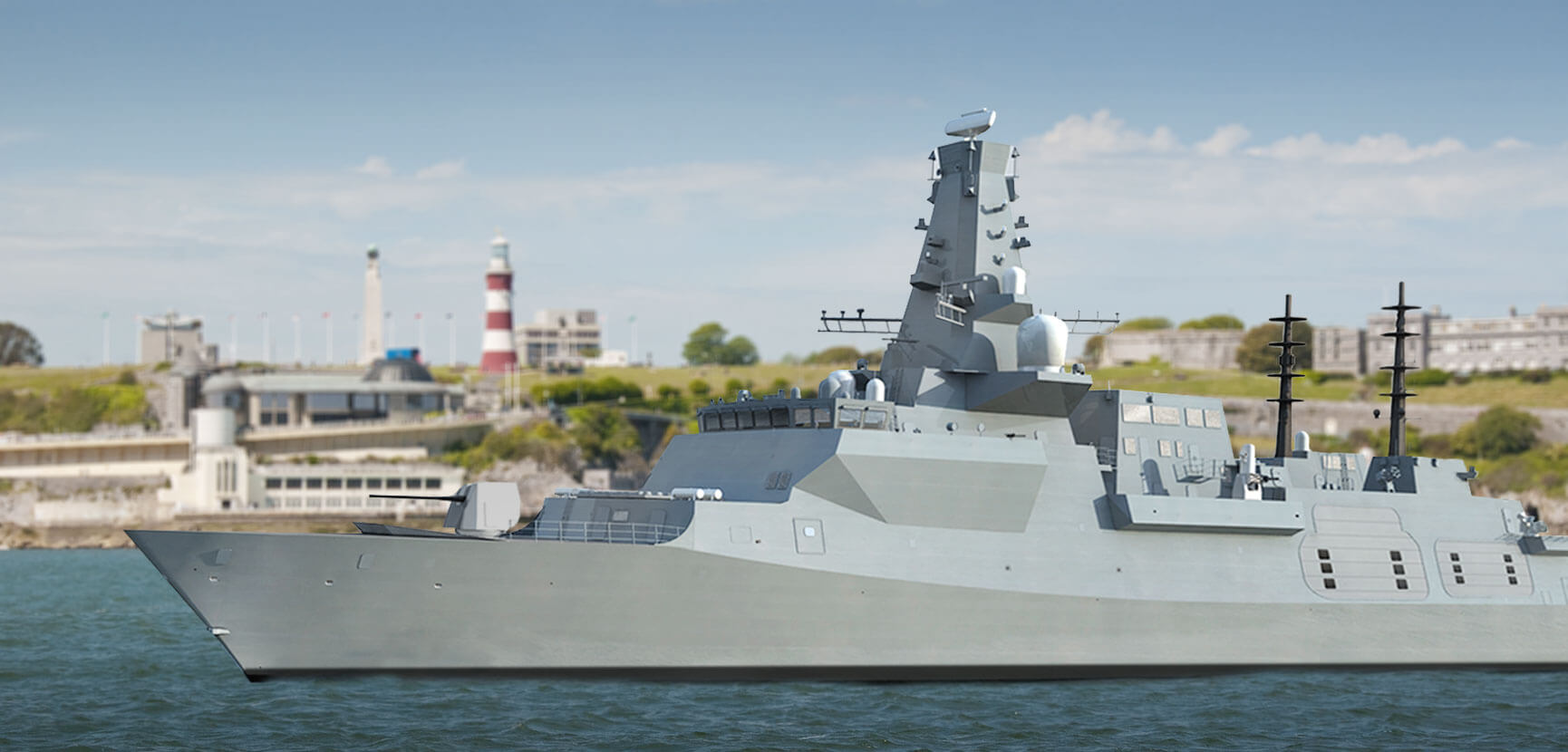 Type 26 Frigate, Plymouth Sound