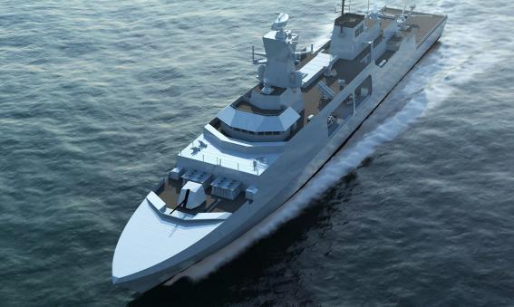 Leander - Type 31e frigate candiate