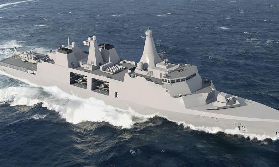 Arrowhead 140 Type 31e frigate candidate