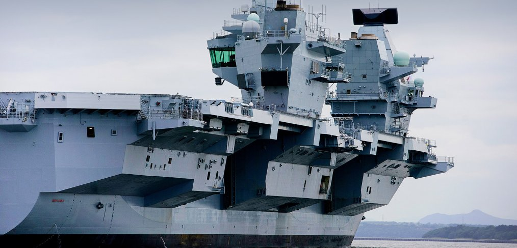 HMS Queen Elizabeth – built to survive | Save the Royal Navy