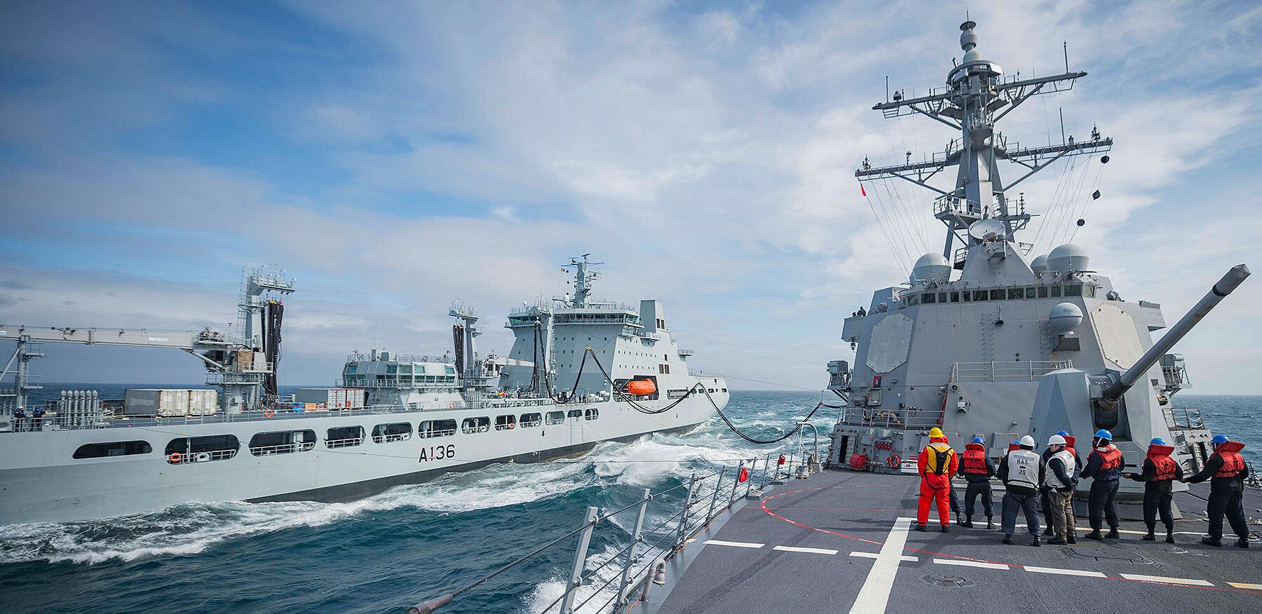 RAF Tidepring USS-Farragut