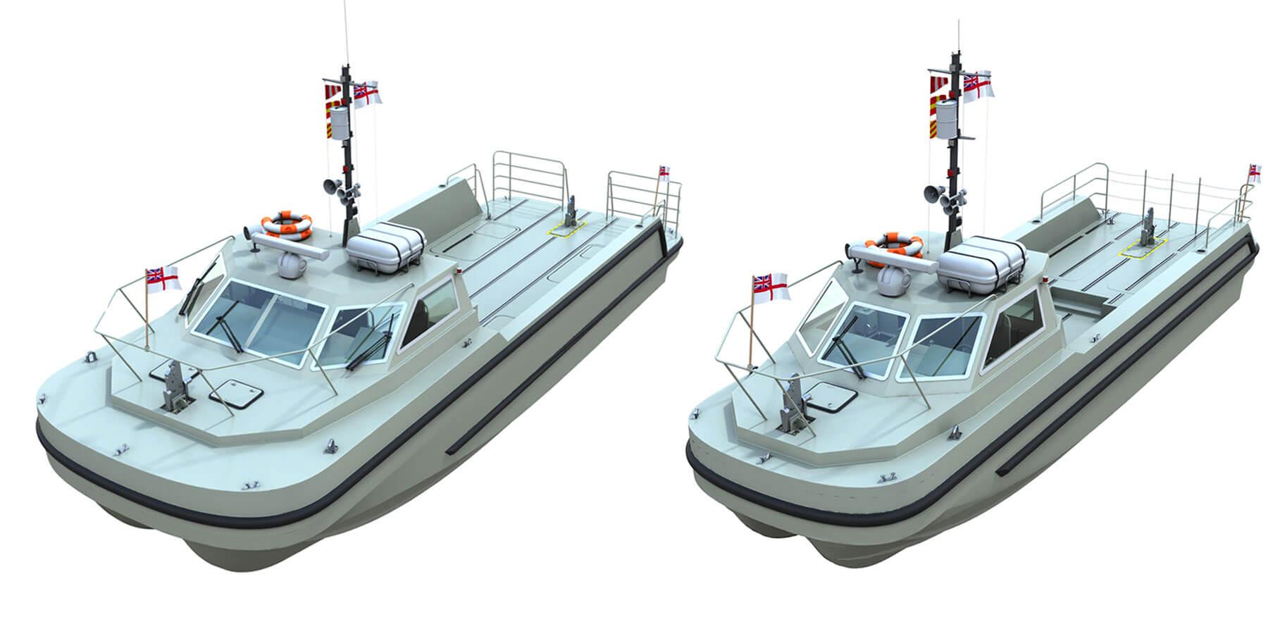 Sea Class Workboat Variants