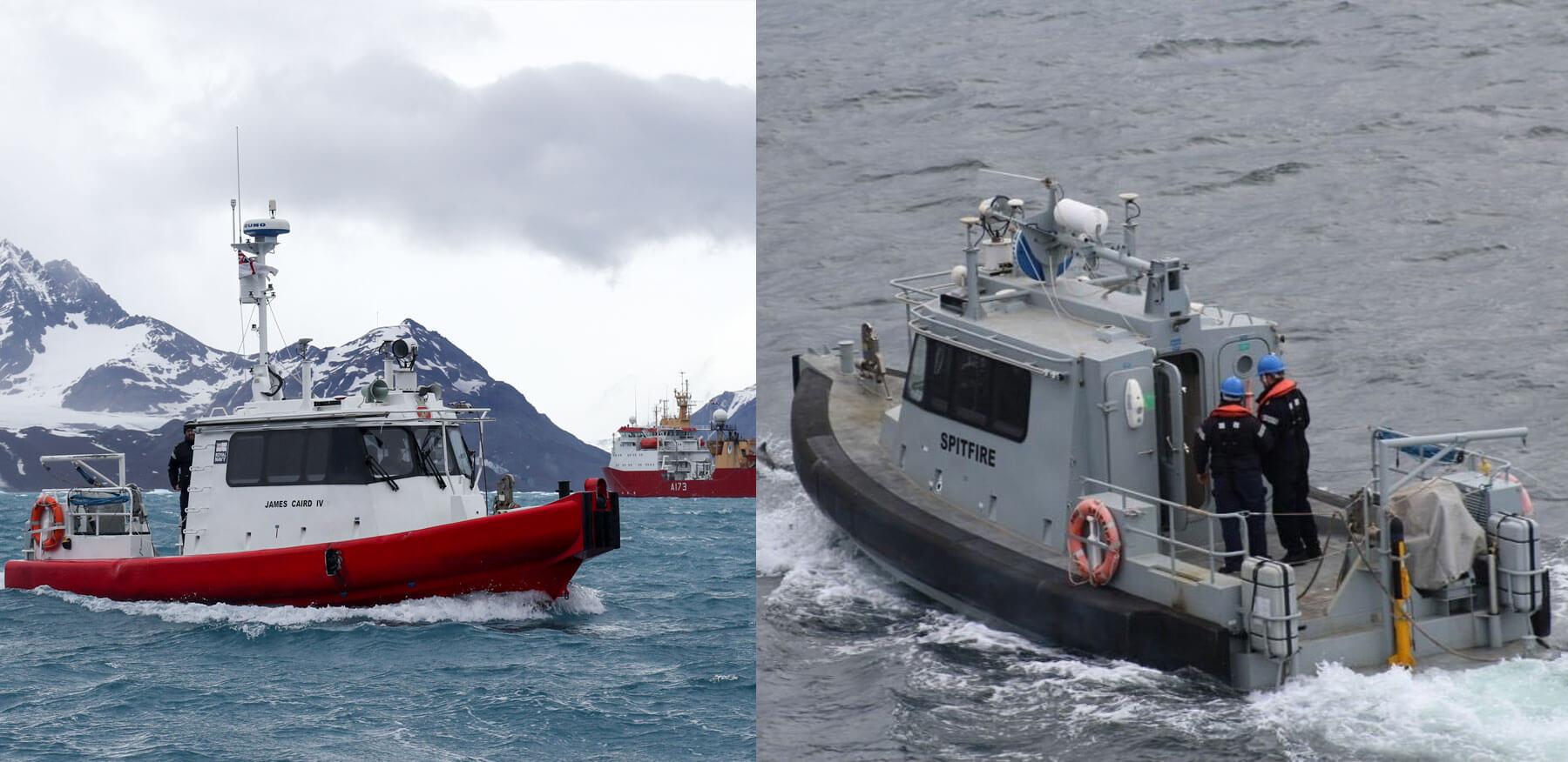 Survey Motor Boat