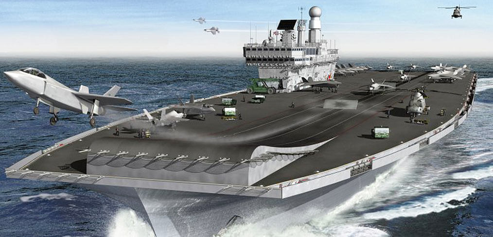 Royal Navy aircraft carriers – vulnerable or fit for the