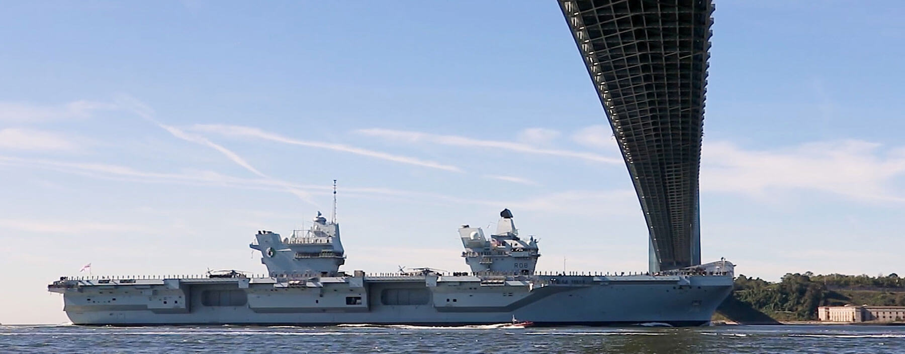 HMS Queen Elizabeth – making an impression in New York