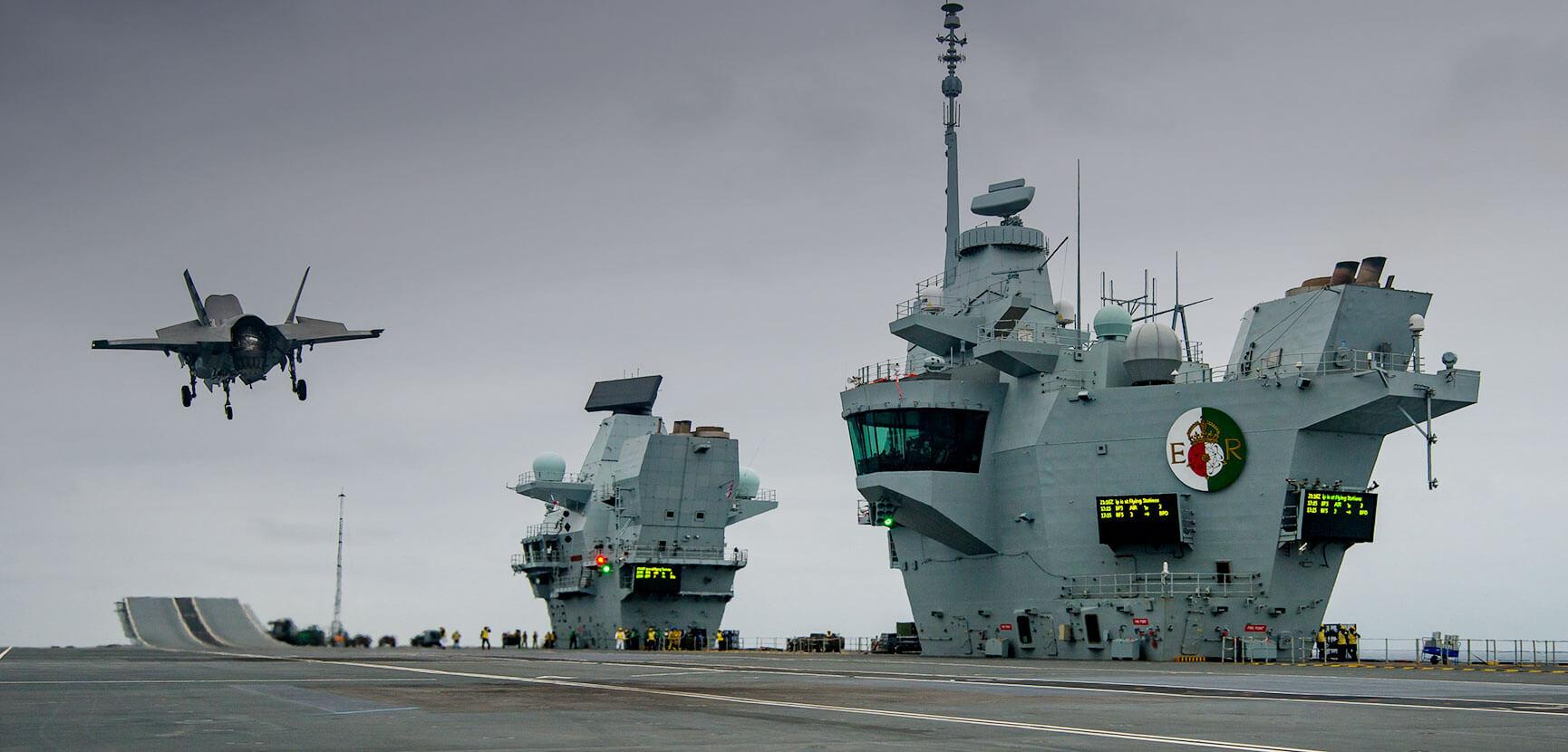 F-35 HMS Queen Elizabeth