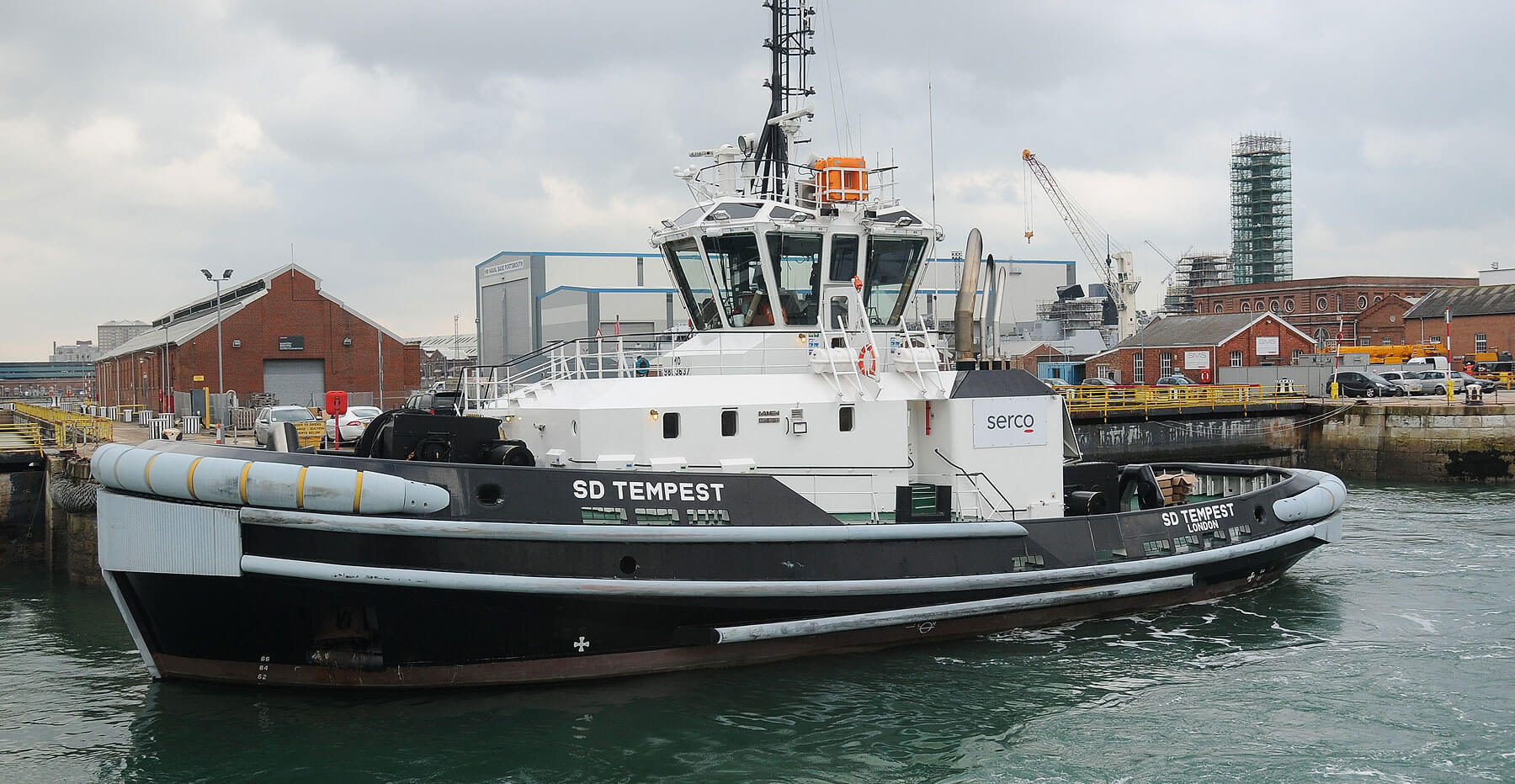 Supporting the fleet – Serco services for the Royal Navy