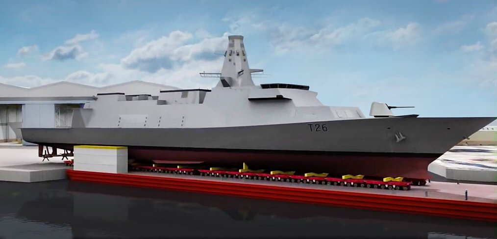 Building HMS Glasgow