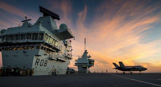 HMS Queen Elizabeth F-35