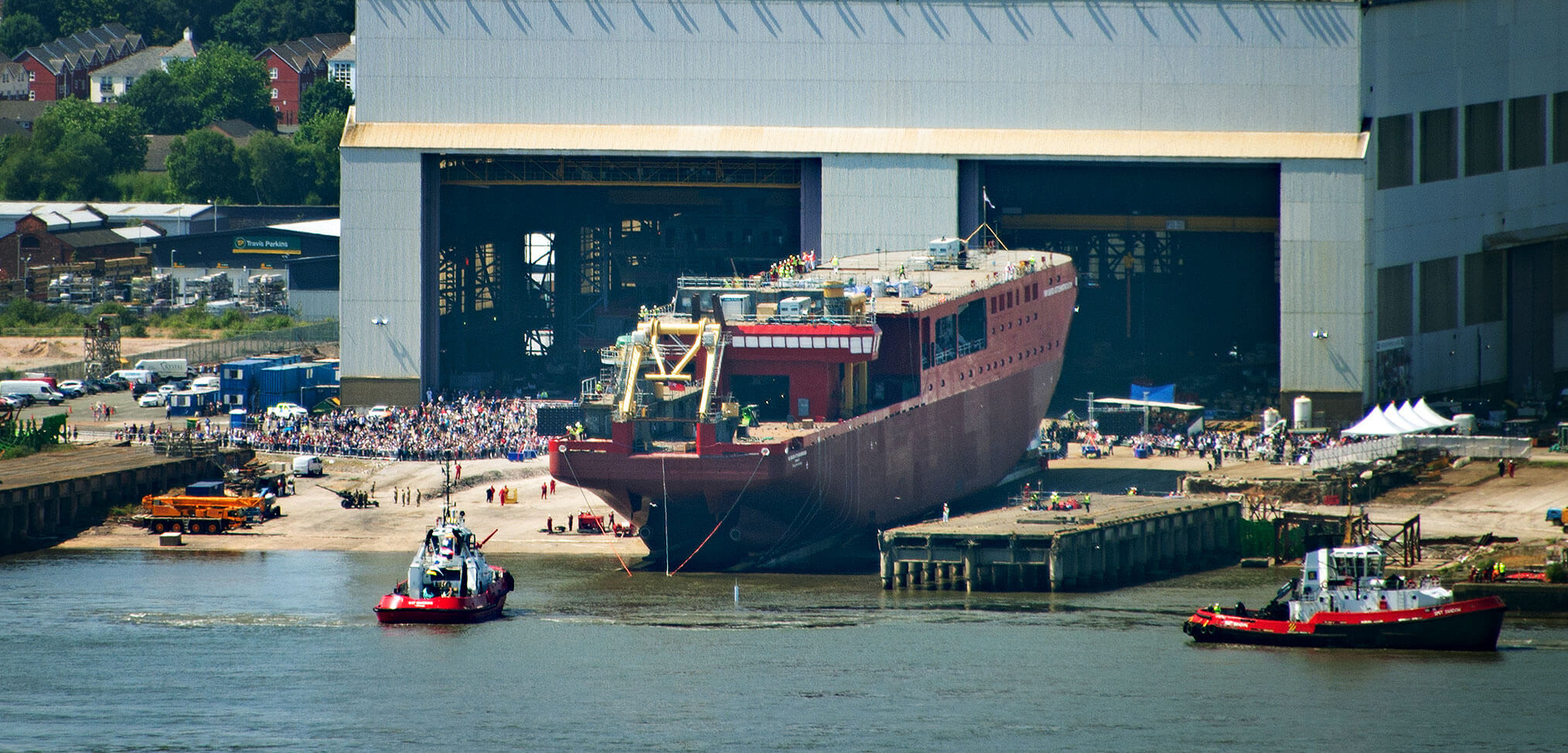 RSS Sir David Attenborough Cammell Laird