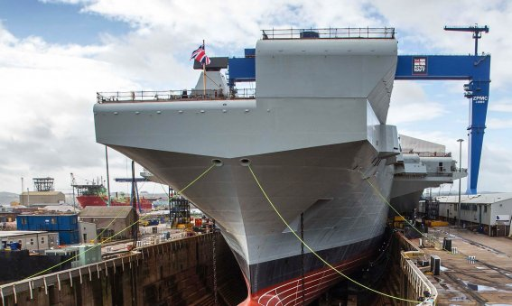 HMS Prince of Wales Rosyth