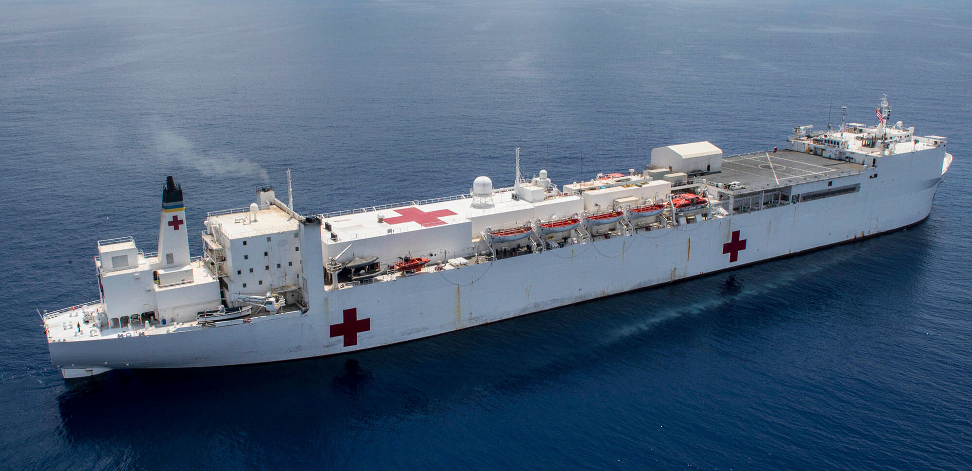 US Hospital ship - USNS Mercy