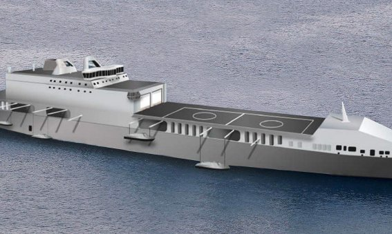 Future Logistic Support Ship