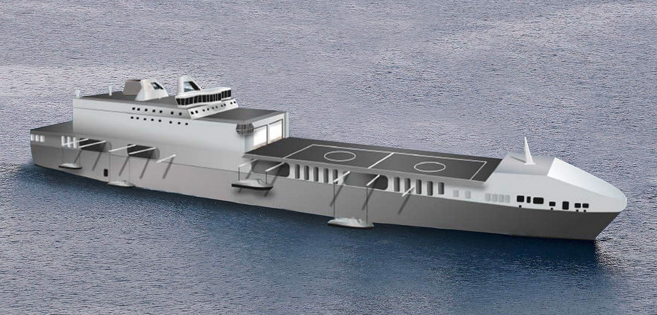 Future Logistic Support Ship