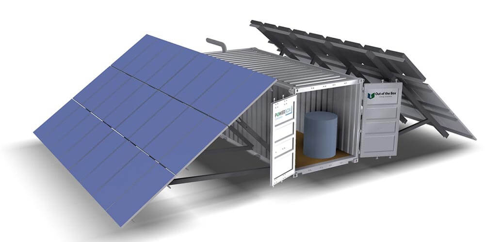Hybrid Containerised Power supply