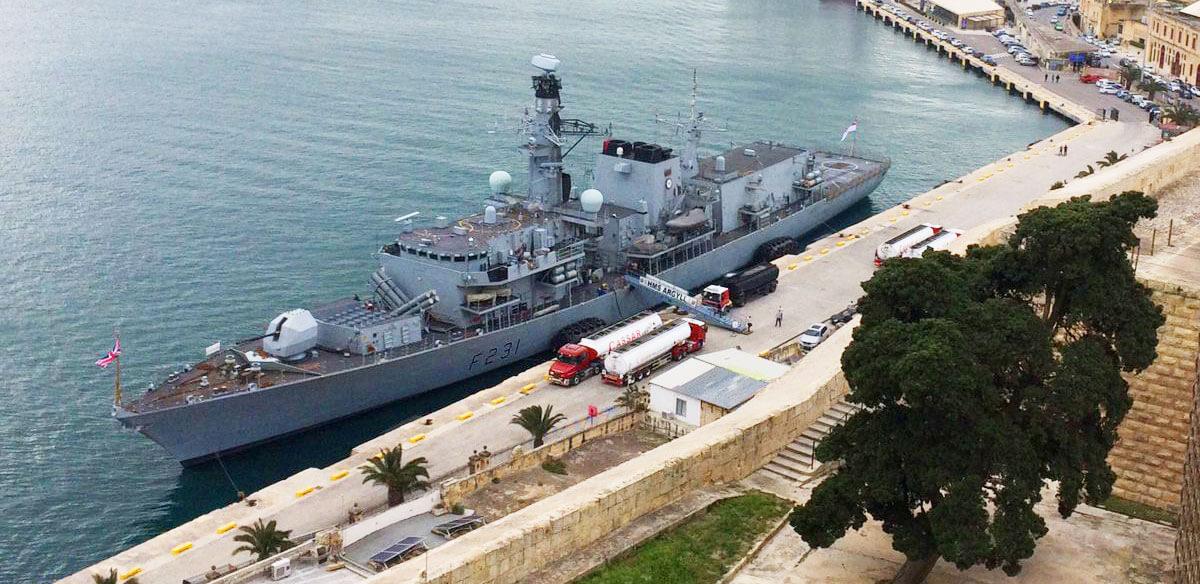HMS Argyll Malta