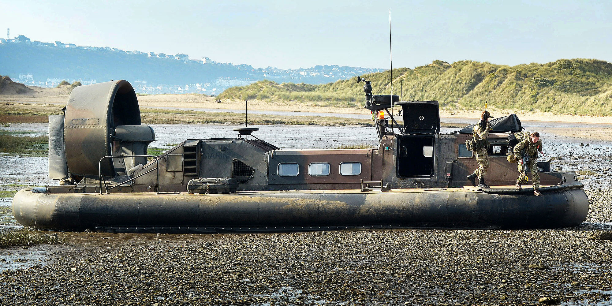 Royal Marine LCAC Hovercraft