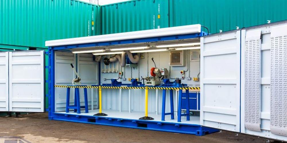 Containerised workshop