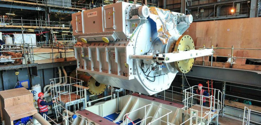 Advanced Induction Motor HMS Queen Elizabeth
