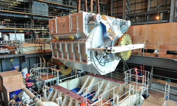 Advanced Induction Motor HMS Queen Elizabeth