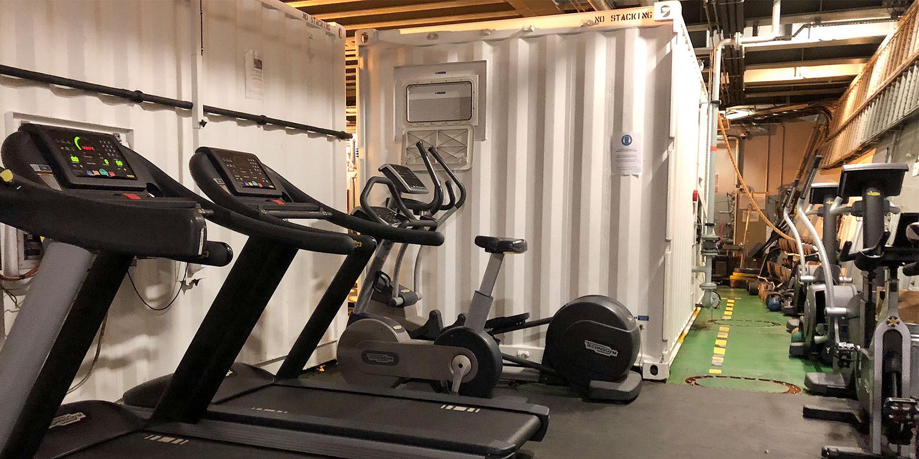 Gym HMS Protector