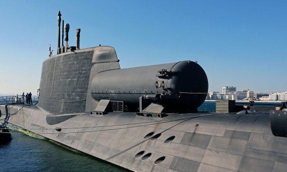 HMS Astute Submarine Dry Deck Shelter