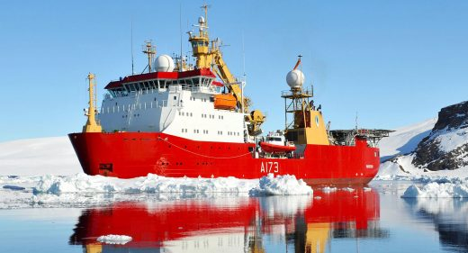 HMS Protector Antarctic Royal-Navy