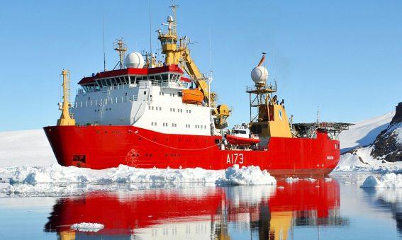 HMS Protector Antarctic Royal-Navy