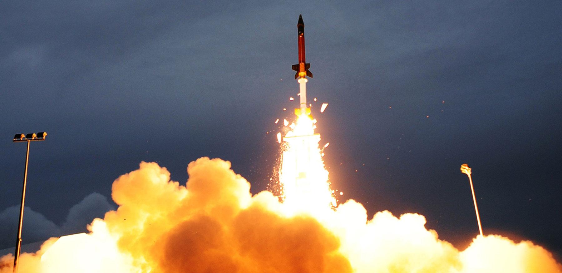 Terrier Oriole ballistic missile