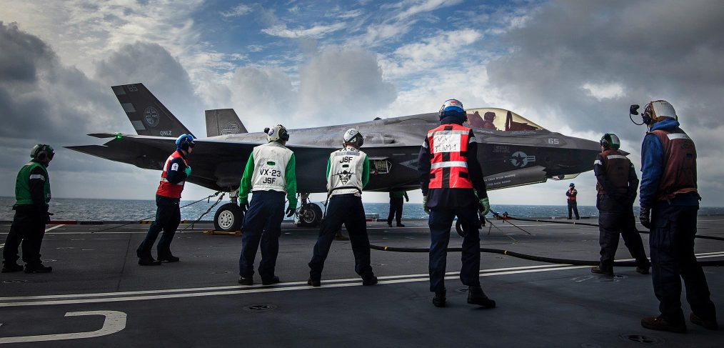 F-35B HMS Queen Eliabeth
