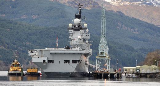 HMS Illustrious Gen Douglas Ammunition Jetty
