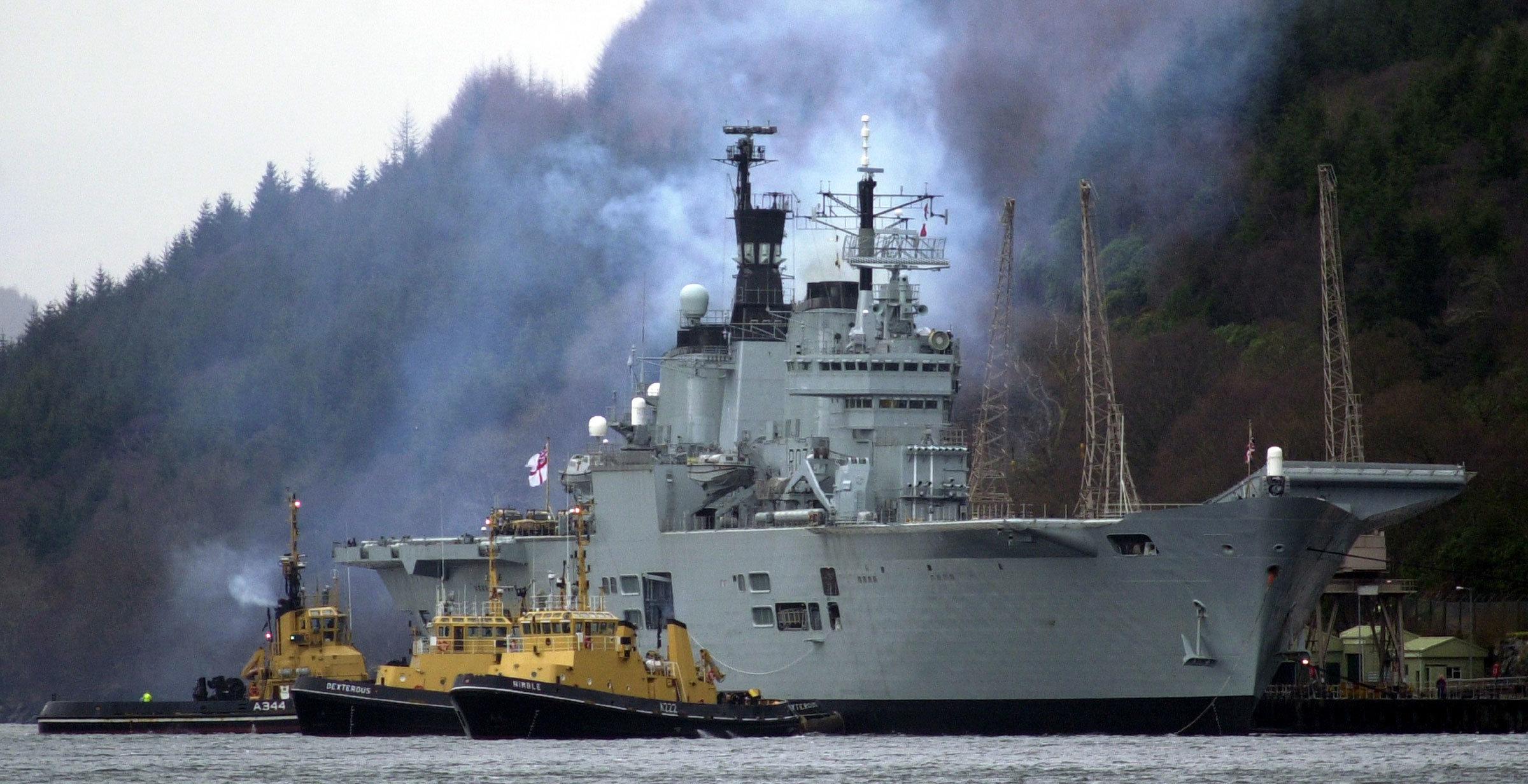 HMS Ark Royal Glen Mallen