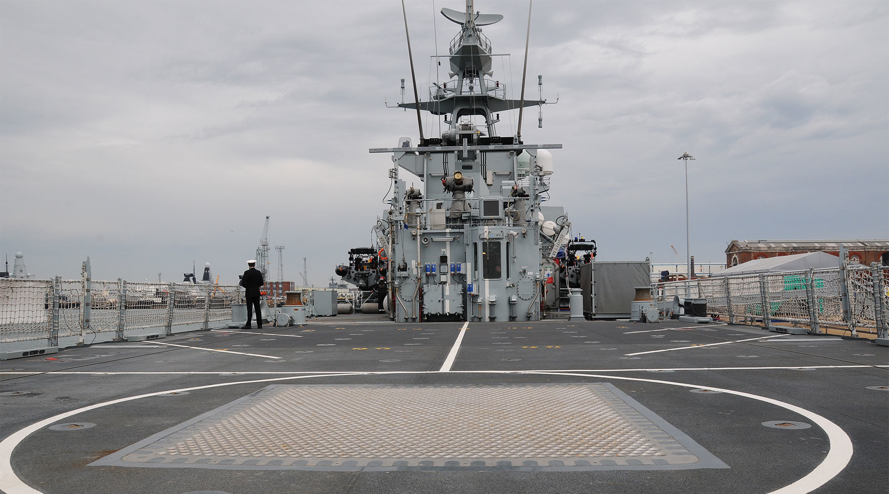 Up close with the Royal Navy's newest ship – HMS Medway