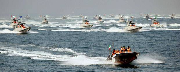 boat swarm iran