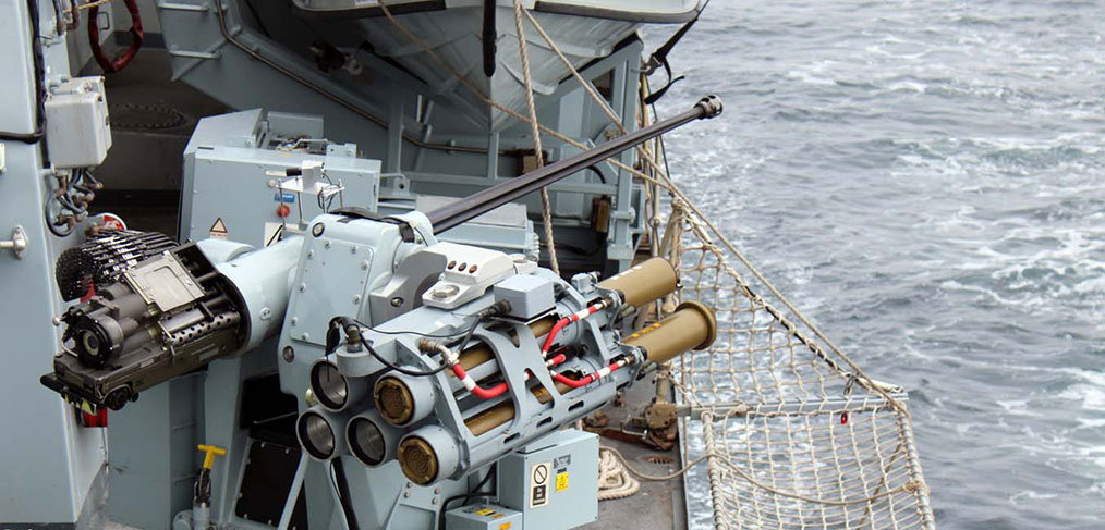 Royal Navy test-fires ship-mounted Martlet Lightweight Multi-role