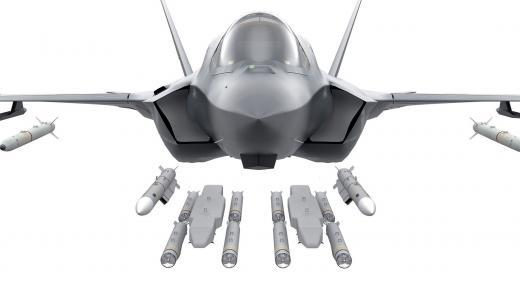 F-35 Munitions Meteor Brimstone ASRAAM