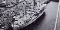 What does the closure of Harland and Wolff shipyard mean for the Royal Navy?