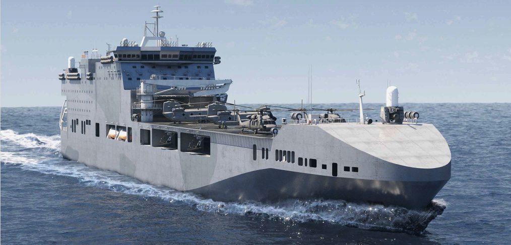 Future Littoral Strike Ship