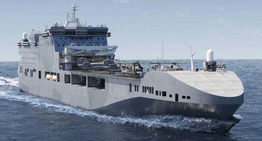 Future Littoral Strike Ship
