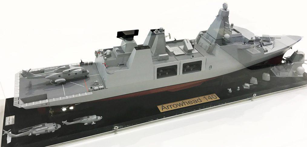 Arrowhead 140 type 31 frigate