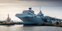 The Royal Navy becomes a two-carrier navy – HMS Prince of Wales sails for the first time