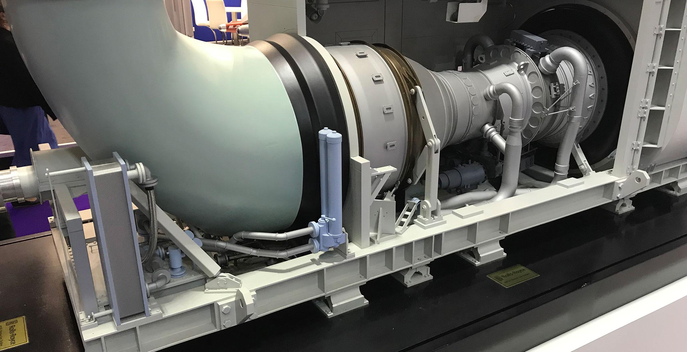 MT30 Gas Turbine Engine