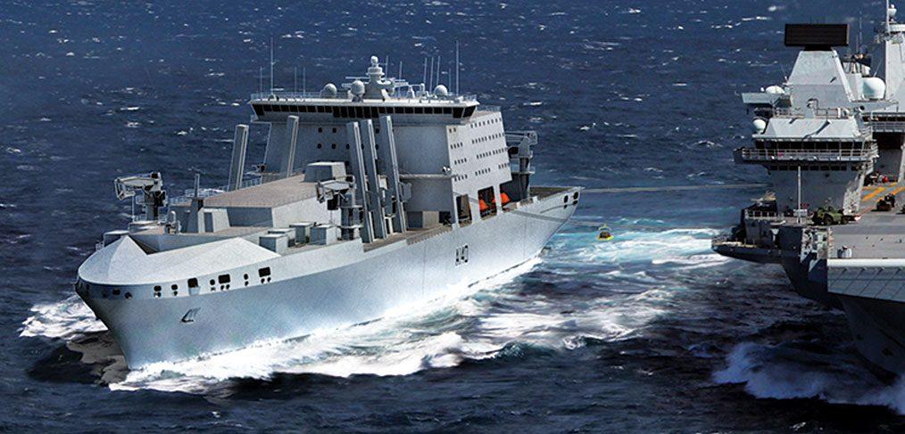 Navantia Fleet Solid Support Ship design