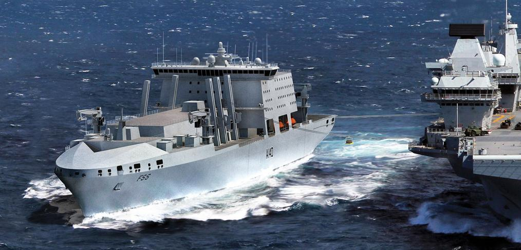 Navantia BMT Fleet Solid Support ship