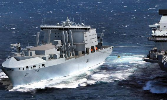 Navantia BMT Fleet Solid Support ship