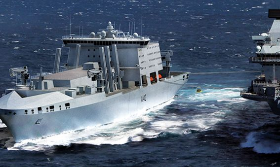 Navantia Fleet Solid Support Ship design